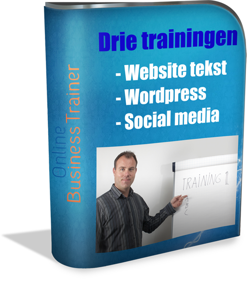 Drie trainingen Online Business Trainer