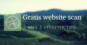 Gratis website scan